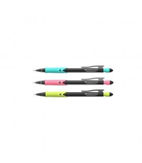 Creion mecanic culori asortate, varf 0.5 mm, Shark 2019 FABER - CASTELL