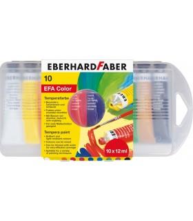 Acuarele tempera 10 culori 12 ml EBERHARD FABER