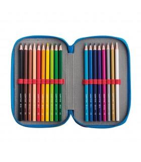 Penar complet echipat personalizabil cu 3 fermoare Color CARIOCA
