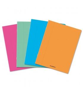 Caiet A5 36 file 80g/mp coperta PP transparent color AURORA