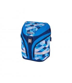 Ghiozdan ergonomic echipat motiv Motion Plus Cubes HERLITZ