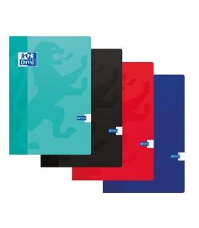 Caiet A4, 60 file, 90g/mp, coperta carton soft OXFORD School