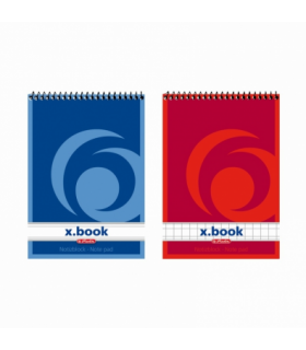 Bloc notes A7 50F spirala X.BOOK  HERLITZ