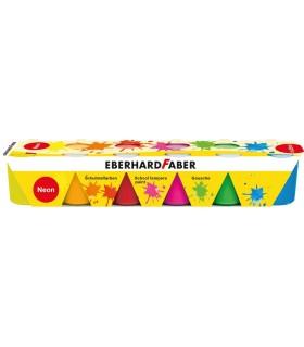 Acuarele guase 6 culori, 25 ml, neon EBERHARD FABER