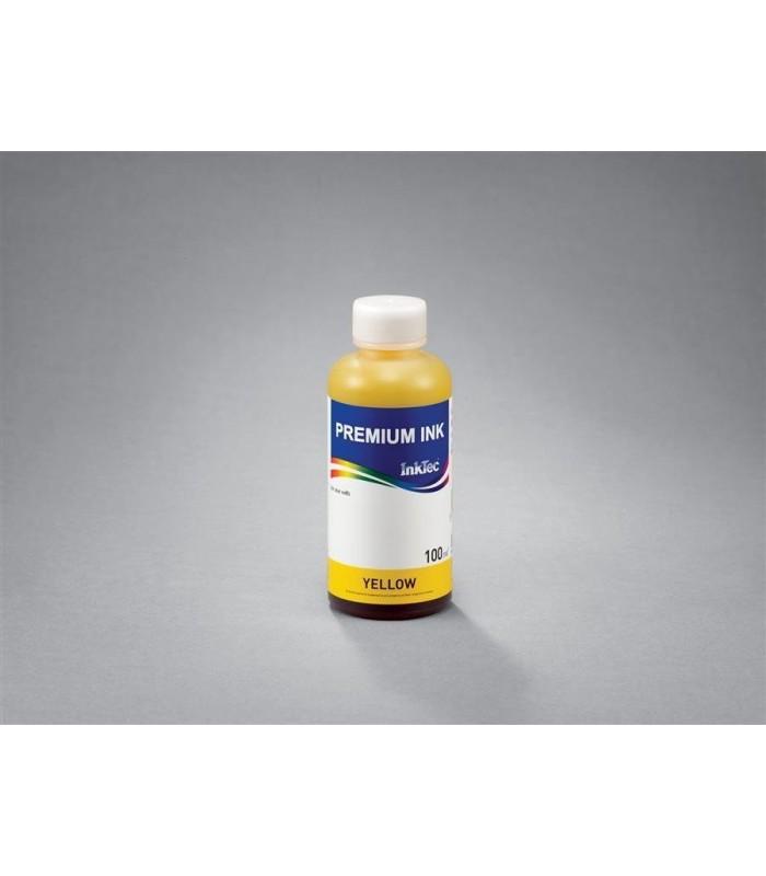 Cerneala imprimanta yellow Inktec H6066Y/100 pentru HP