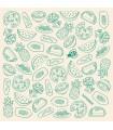 Set Folie ecologica cu ceara de albine SuperBee unica - BumbleBee 30 x 50 cm