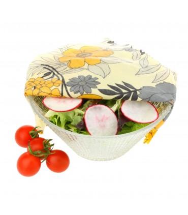 Set 3 folii alimentare ecologice medii,  26 x 26 cm SUPERBEE