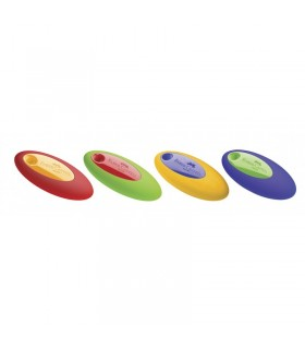 Radiera creion ovala cu mijloc plastic FABER-CASTELL