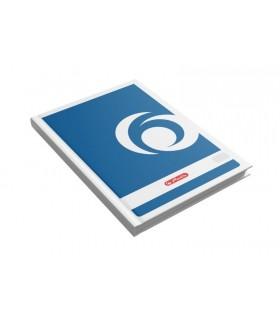 Registru A4 100 file, coperti carton, HERLITZ