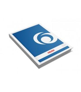 Registru A4 200 file, coperti carton, HERLITZ