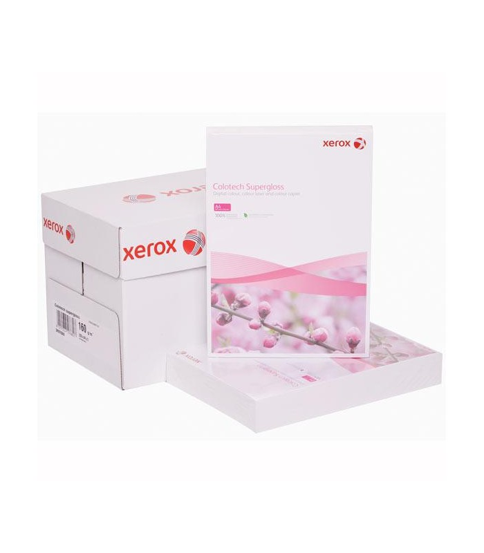 Hartie carton A4 Colotech superlucios alb XEROX