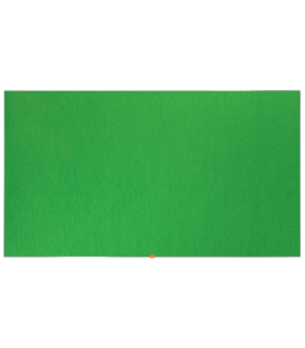 Panou textil Widescreen, rama aluminiu, verde NOBO