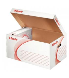 Container arhivare alb, deschidere superioara, Standard ESSELTE