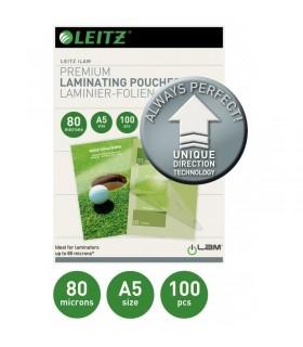 Folie pentru laminare la cald A5 100 folii/top UDT LEITZ