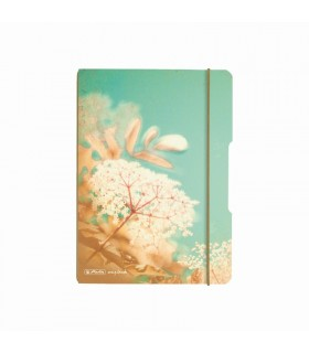 Caiet A5, 40 file, matematica, My.Book Flex, Vintage Flowers HERLITZ
