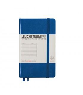 Caiet A6 dictando coperta rigida albastru royal LEUCHTTURM