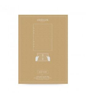 Rezerva hartie FILOFAX dictando 25 buc/set A5, compatibila agenda si Clipbook Filofax