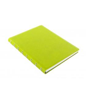 Caiet multifunctional Notebook Saffiano cu spirala si rezerve A5 Pear, FILOFAX