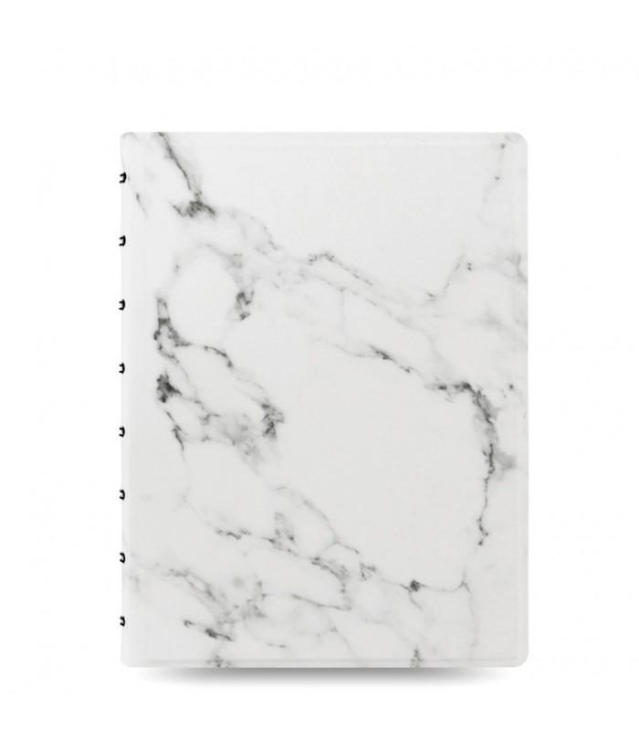 Agenda Notebook Architexture cu spirala si rezerve A5 Marble FILOFAX