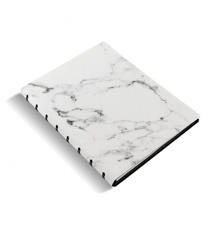 Caiet multifunctional Notebook Architexture cu spirala si rezerve A5 Marble , FILOFAX
