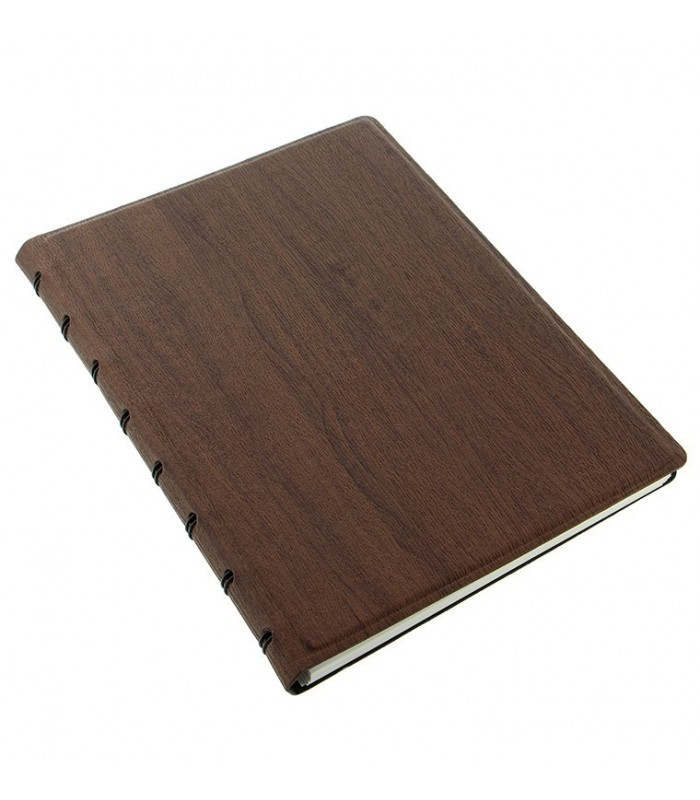 Caiet multifunctional Notebook Architexture cu spirala si rezerve A5 Rosewood, FILOFAX