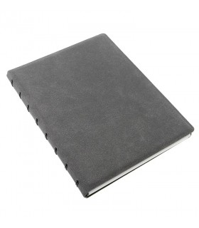 Caiet multifunctional Notebook Architexture cu spirala si rezerve A5 Concrete, FILOFAX