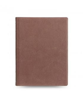 Caiet multifunctional Notebook Architexture cu spirala si rezerve A5 Terracotta, FILOFAX