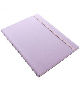 Caiet multifunctional Notebook Classic Pastels cu spirala si rezerve A4 Orchid, FILOFAX