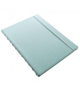 Caiet multifunctional Notebook Classic Pastels cu spirala si rezerve A4 Duck Egg, FILOFAX