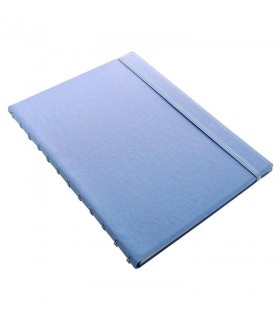Caiet multifunctional Notebook Classic Pastels cu spirala si rezerve A4 Vista Blue, FILOFAX