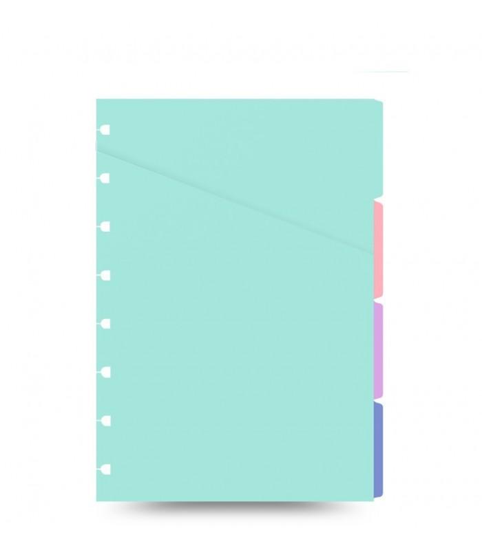 Indici pastel asortati Classic Pastel, A5 Nootebook, FILOFAX
