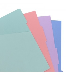 Indecsi pastel asortati Classic Pastel, A5 Nootebook, FILOFAX