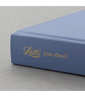 Agenda nedatata A5, tip jurnal, multianuala Blue LETTS
