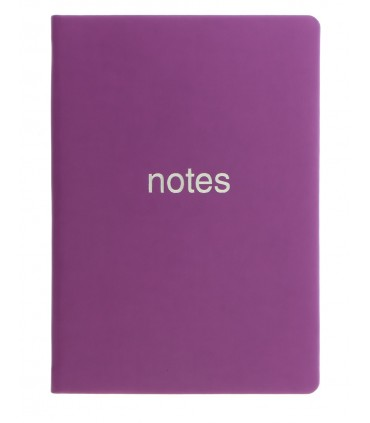 Notebook A6 Dazzle Purple LETTS