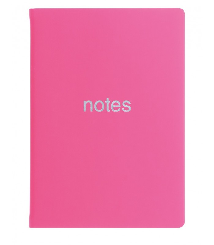 Notebook A6 Dazzle Pink LETTS