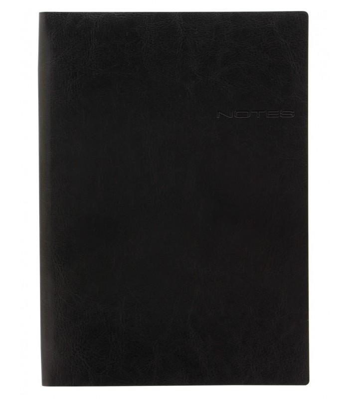 Notebook A4 Lecassa Black LETTS