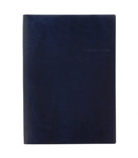 Notebook A4 Lecassa Navy LETTS