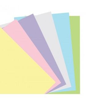 Rezerva hartie FILOFAX velina 60 buc/set A5, 6 culori/set compatibila Notebook Filofax
