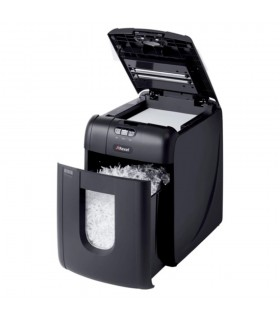 Distrugator documente automat 130 coli, P4, cross-cut (confeti), 130X Auto+ REXEL