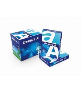 Hartie alba pentru copiator A4, 80 g/mp, 500 coli/top, clasa A, Double A