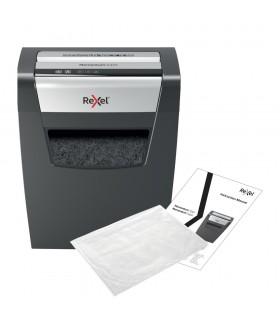 Distrugator documente 10 coli, P4, cross-cut (confeti), X410 Momentum REXEL