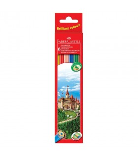 Creioane colorate Eco FABER-CASTELL