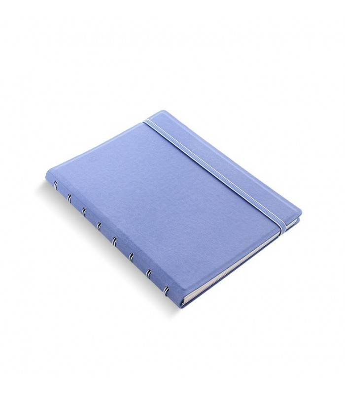 Caiet multifunctional Notebook Classic cu spirala si rezerve A5 Vista Blue, FILOFAX