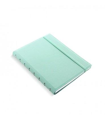 Caiet multifunctional Notebook Classic Pastel cu spirala si rezerve A5 Duck Egg, FILOFAX