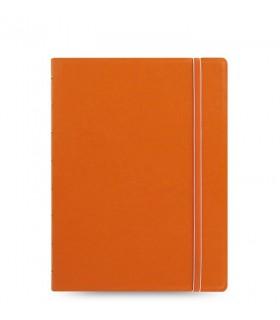 Caiet multifunctional Notebook Classic cu spirala si rezerve A5 Orange, FILOFAX