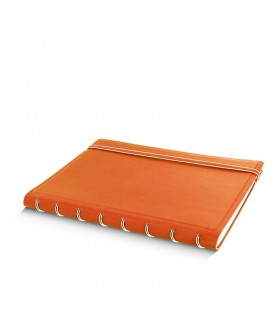 Caiet multifunctional Notebook Classic cu spirala si rezerve A5 Orange, FILOFAX