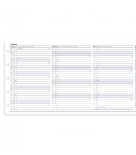 Rezerva hartie anuala Pocket, datata 2020 compatibila Notebook FILOFAX