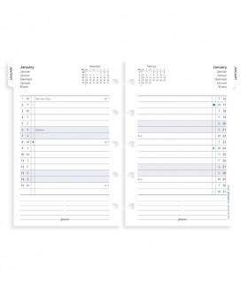 Rezerva hartie lunara Pocket 13 buc/set datata 2020 compatibila Notebook FILOFAX