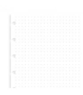 Rezerva hartie punctata 32 buc/set Journal Pocket compatibila Notebook FILOFAX