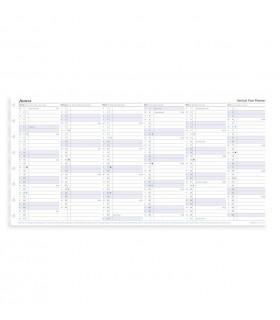 Rezerva hartie FILOFAX anuala 1 buc/set A5, datata 2020 compatibila Notebook Filofax